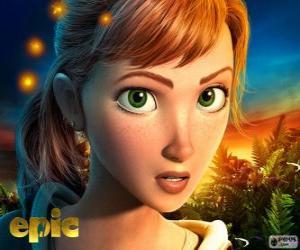 Rompicapo di Mary Katherine, una ragazza adolescente che vive avventure in un mondo fantastico
