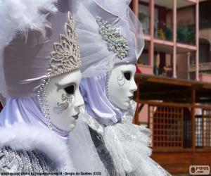 Rompicapo di Maschera bianca