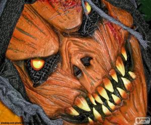 Rompicapo di Maschera diavolo