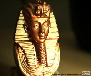 Rompicapo di Maschera faraone Tutankhamon