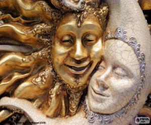 Rompicapo di Maschere del sole e della luna