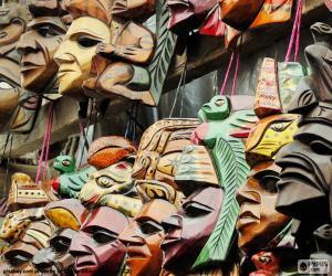Rompicapo di Maschere Maya