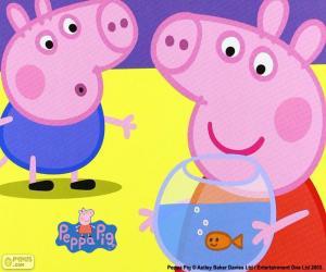 Rompicapo di Mascotte di Peppa Pig