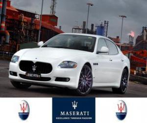 Rompicapo di Maserati Quattroporte Sport GT S MC Sportline