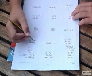 Rompicapo di Matematica semplice