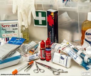Rompicapo di Materiale di primo soccorso