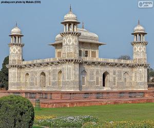 Rompicapo di Mausoleo di I'timād-ud-Daulah, India