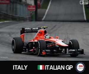 Rompicapo di Max Chilton - Marussia - Monza, 2013