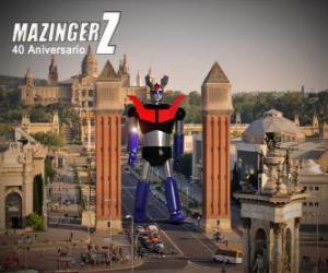 Rompicapo di Mazinger Z 40 ° anniversario (1972-2012)