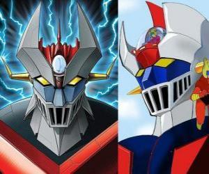 Rompicapo di Mazinger Z, le immagini del capo del Super Robot