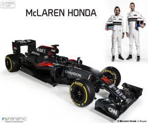 Rompicapo di McLaren Honda 2016