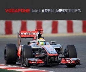 Rompicapo di McLaren MP4-27 - 2012 -