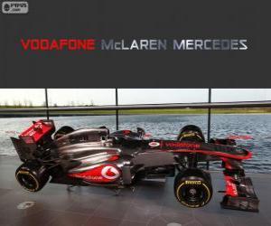 Rompicapo di McLaren MP4-28 - 2013 -