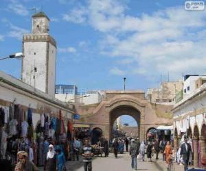 Rompicapo di Medina di Essaouira, Marocco