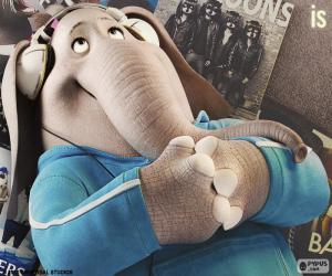 Rompicapo di Meena l'elefante