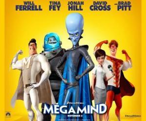 Rompicapo di Megamind personaggi principali