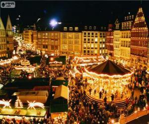 Rompicapo di Mercatino di Natale di Francoforte
