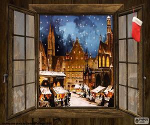 Rompicapo di Mercatino di Natale, finestra