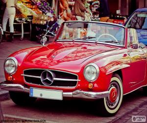 Rompicapo di Mercedes-Benz 190SL (1955-1963)