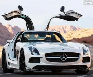 Rompicapo di Mercedes-Benz SLS AMG Black Series