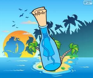 Rompicapo di Messaggio in una bottiglia
