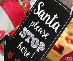 Rompicapo di Messaggio per Babbo Natale