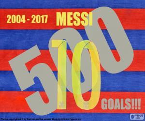 Rompicapo di Messi 500 gol