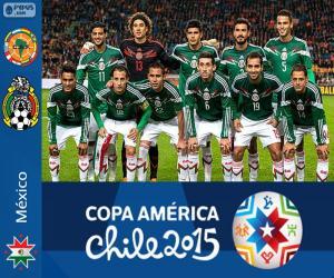 Rompicapo di Messico Copa America 2015