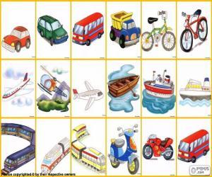 Rompicapo di Mezzi di trasporto