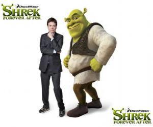 Rompicapo di Mike Myers fornisce la voce Shrek l'ultimo film Shrek e vissero felici e contenti