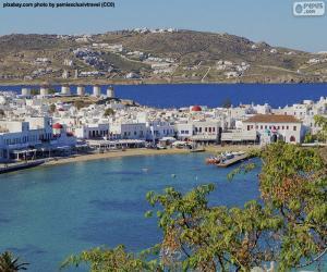 Rompicapo di Mikonos, Grecia