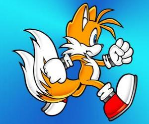 Rompicapo di Miles Prower, noto come Tails è una volpe a due code che possono volare