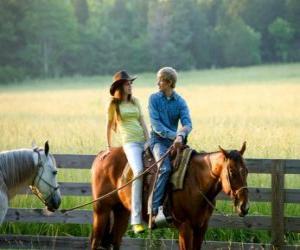 Rompicapo di Miley Stewart a cavallo