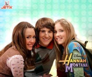 Rompicapo di Miley Stewart e le suoi amici