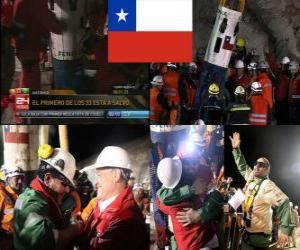 Rompicapo di minatori cileni salvataggio a lieto fine