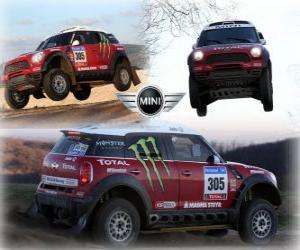 Rompicapo di Mini All4 Racing Dakar 2011