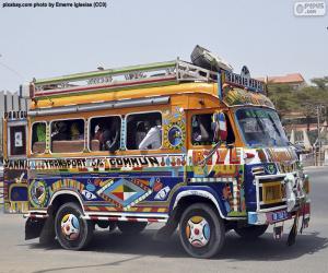 Rompicapo di Minibus, Dakar, Senegal