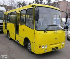 Rompicapo di Minibus Isuzu Bogdan A092