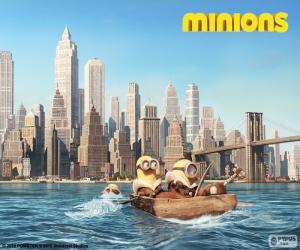 Rompicapo di Minions arrivano a New York