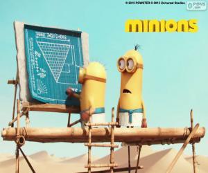 Rompicapo di Minions in Egitto