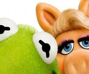Rompicapo di Miss Piggy e Kermit la Rana