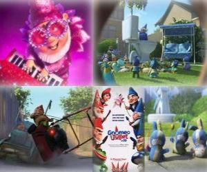 Rompicapo di Molte delle immagini Gnomeo e Giulietta