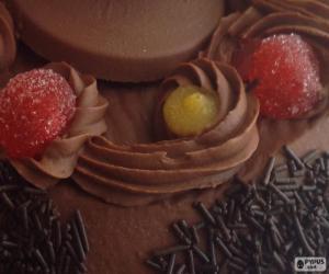 Rompicapo di Mona de Pasqua, cioccolato