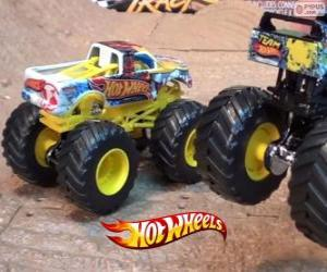 Rompicapo di Monster Jam di Hot Wheels