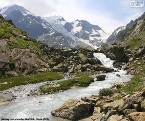 Rompicapo di Montagne di Susten, Svizzera