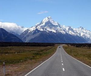 Rompicapo di Monte Cook, Nuova Zelanda
