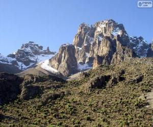Rompicapo di Monte Kenya, Kenya