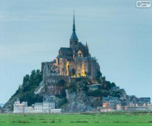Rompicapo di Monte Saint-Michel, Francia