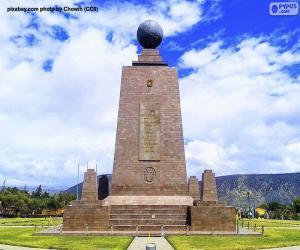 Rompicapo di Monumento al Centro del Mondo, Ecuador