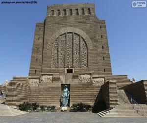 Rompicapo di Monumento voortrekker